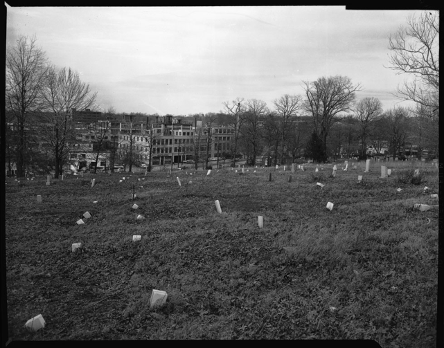 Columbian Harmony Cemetery, April 1960 [cellulose acetate photonegative]. Scurlock Studio (Washington, D.C.) (photographers). Archives Center - NMAH.