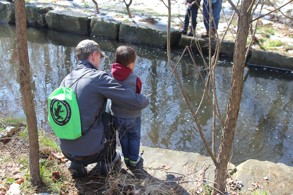 For some, it's an opportunity to fish for the first time.