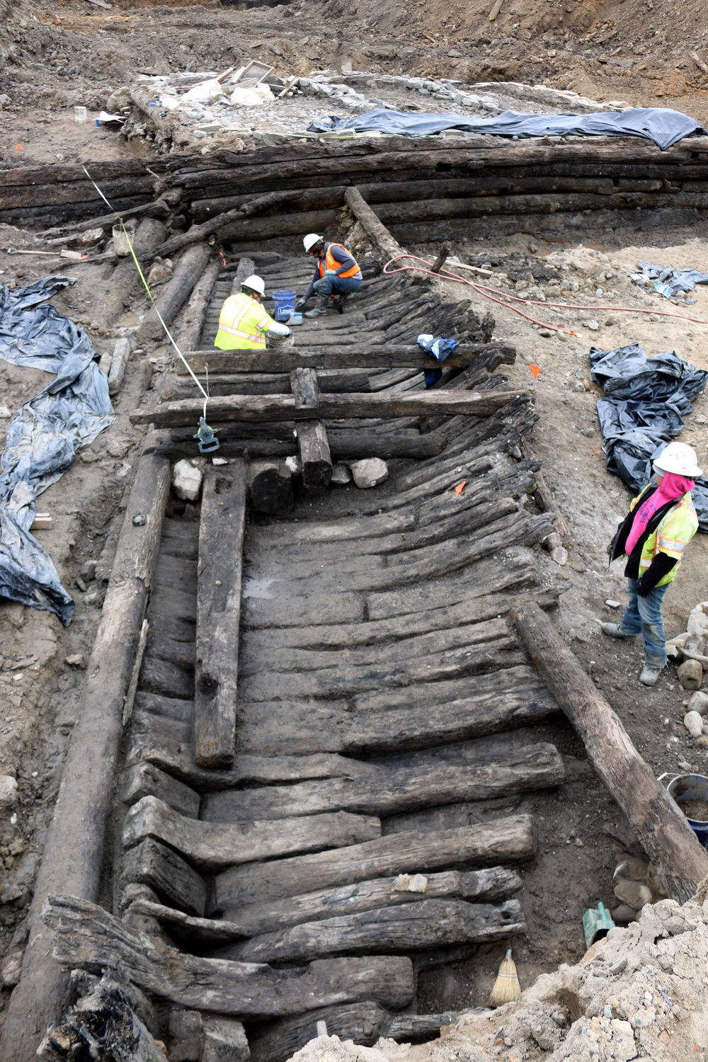 WSSI archeologists at Robinson Landing