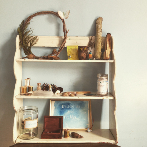 one of my first altars, this one to the earth. though, in truth, I have been making altars since childhood- I only just recently began making them with some intentions beyond aesthetic beauty.