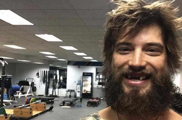 Brent Burns, in all his glory.