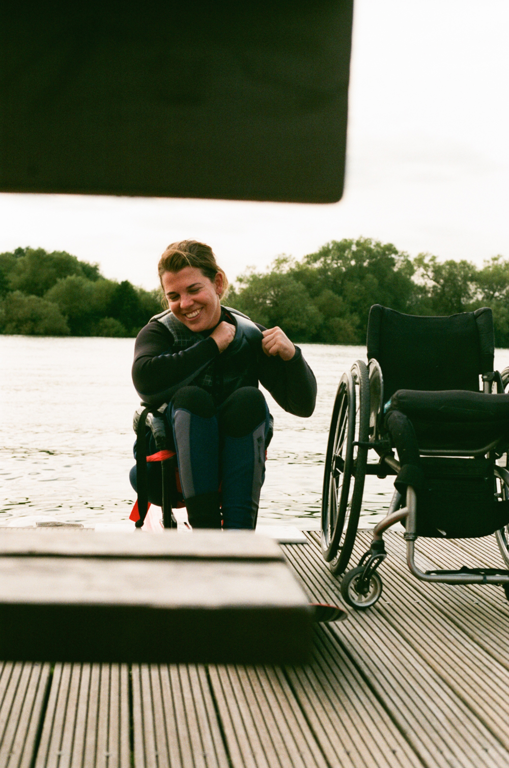 Sophie Disability wake-boarding
