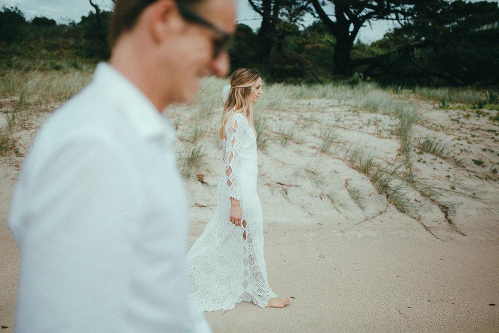 laura + jamie / new zealand ___ wedding photo