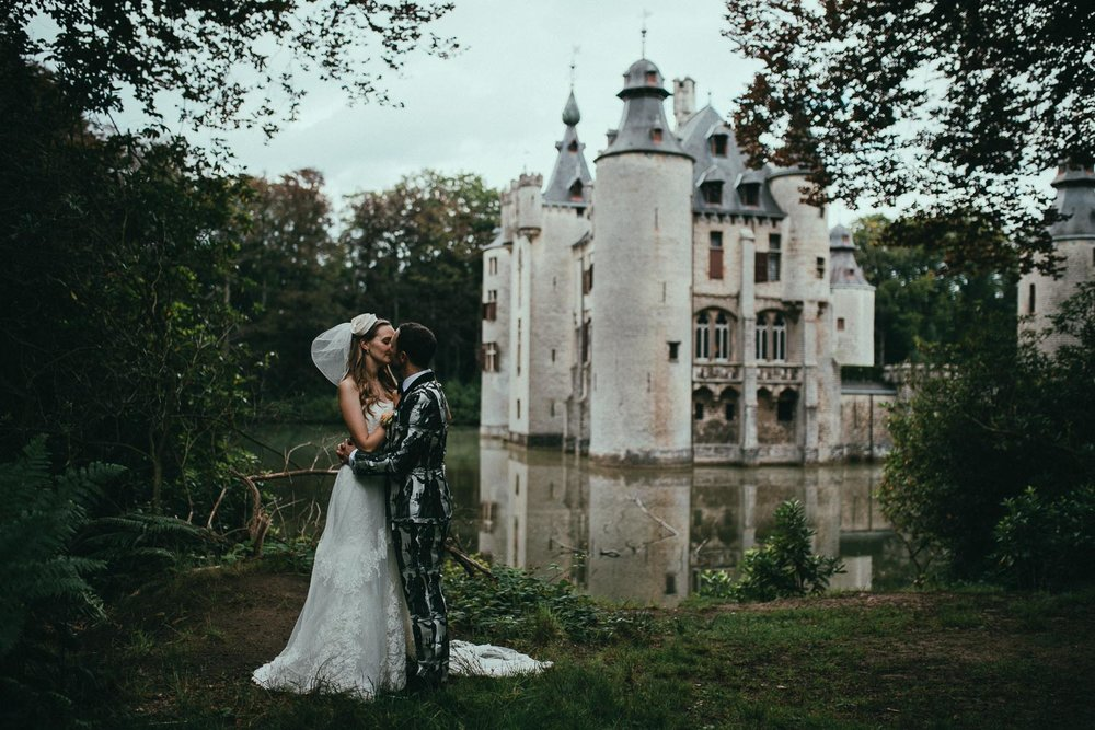 ANNE + HENRY /CHATEAU WEDDING,BELGIUM ___ PHOTOS