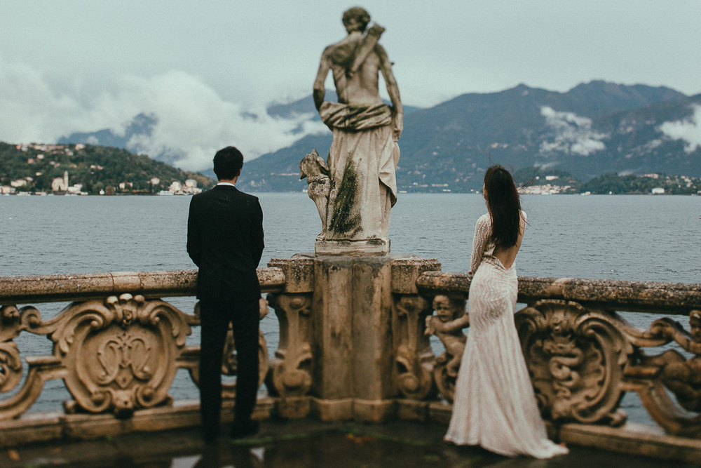 LISA + TONY - Como Lake - Italy