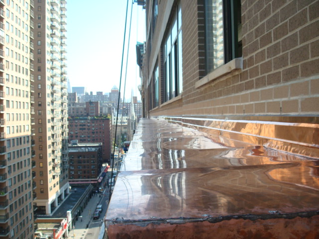 Copper water table