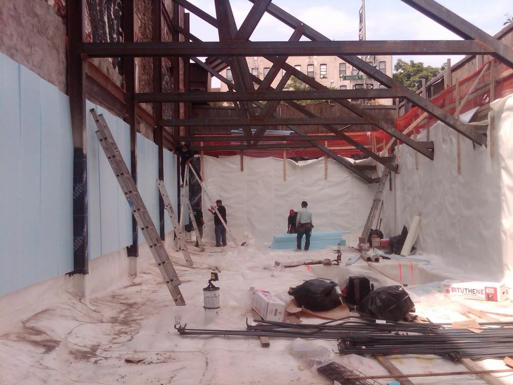 Sub grade waterproofing grace pre proof
