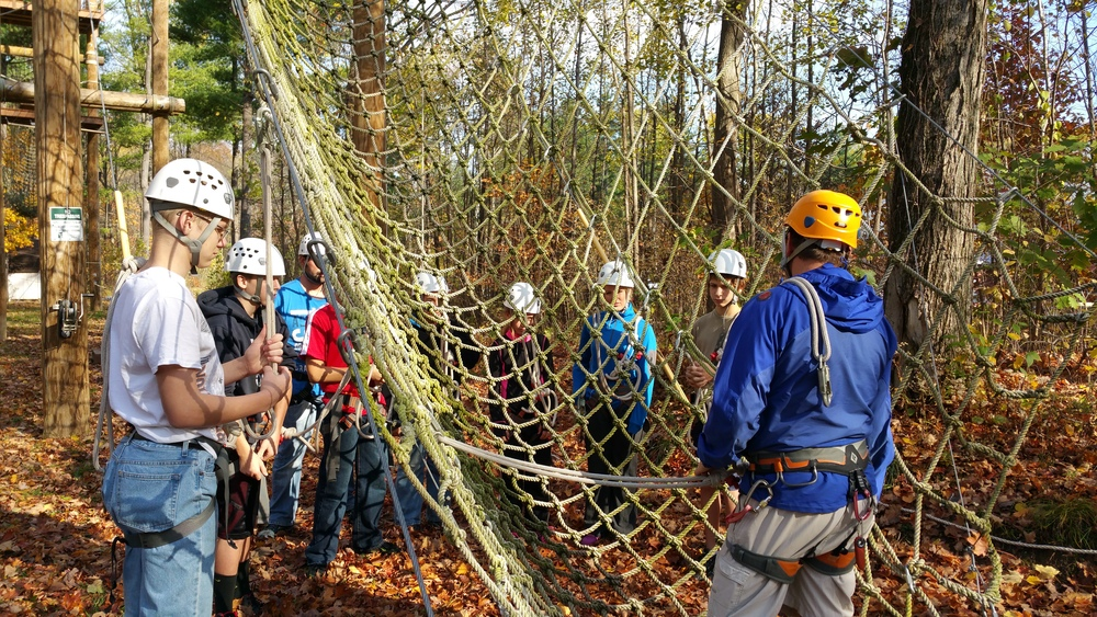 Traversing the Ropes Course