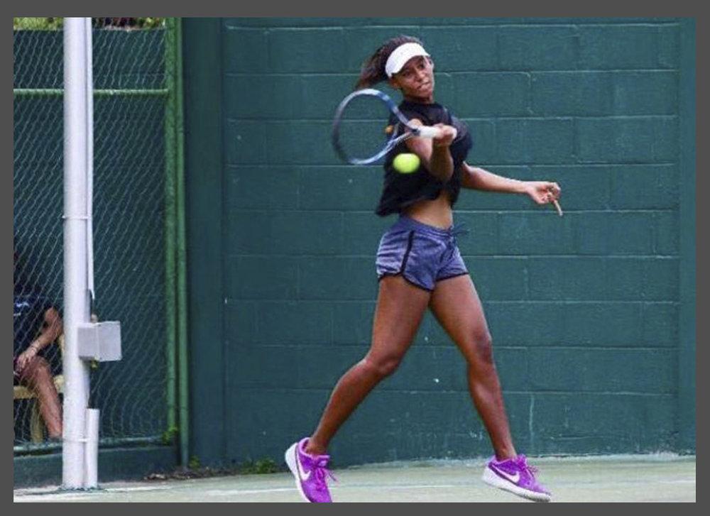 Kelsey, Tennis Athlete
