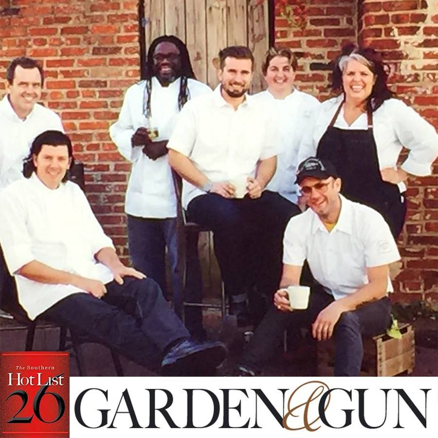 """We are honored to have CheFarmer Matthew Raiford spotlighted on the """"The Southern Hot List"""" in latest Garden & Gun Magazine, hitting stands this January!http://bit.ly/1n66vBI"""