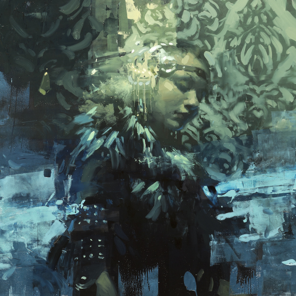 """Septenary"" by Jeremy Mann for the Paintguide exhibition."