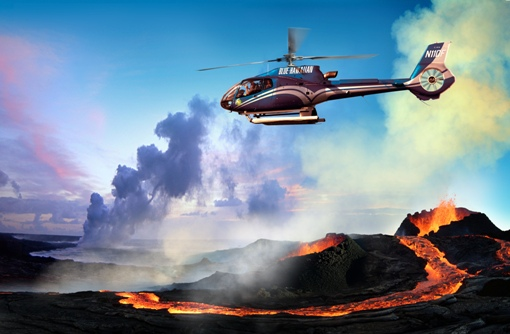 Soar above Kilauea Volcano!