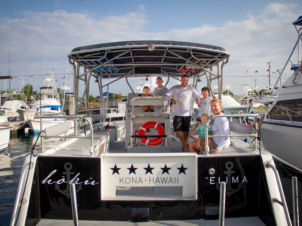 The best crew on the island - Alii Ocean Tours!