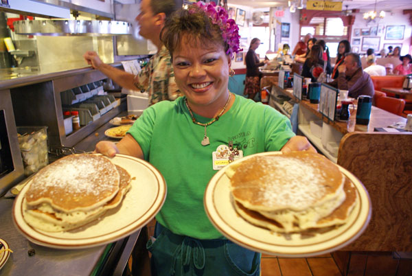 Whether you're in the mood for breakfast for dinner or local grinds anytime... it's Ken's!