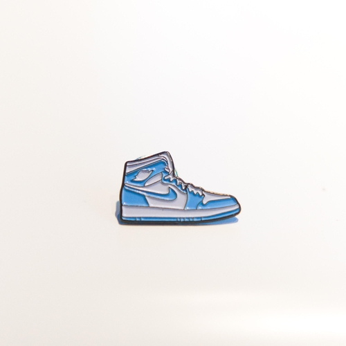 UNC 1 Sneaker Pin