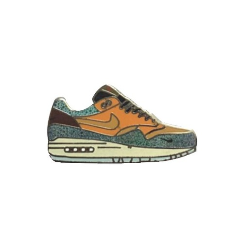 reputable site d0649 29e87 Max 1 Atmos Sneaker Pin. air max safari