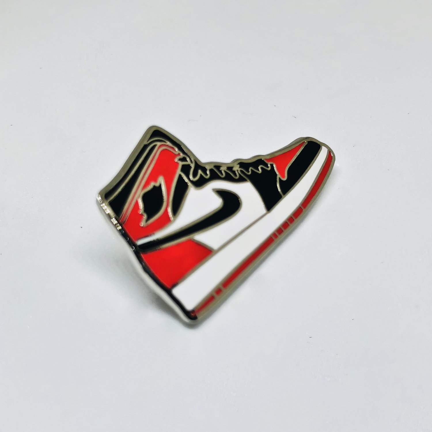 78da6e74bb6ad Bred Toe Sneaker Pin — Pin Drop NYC