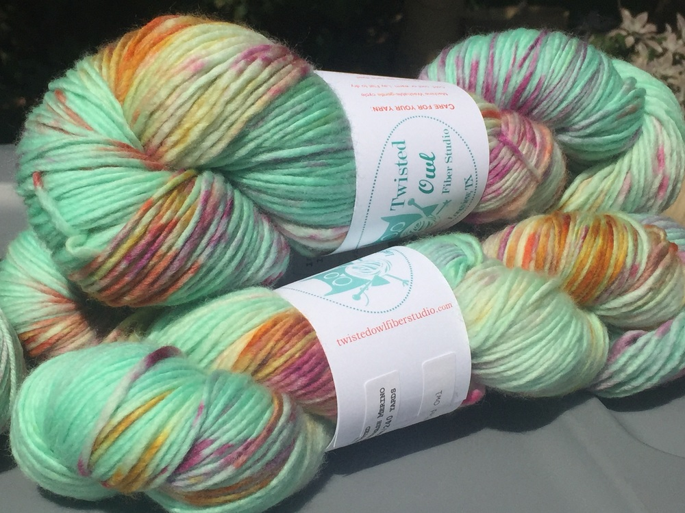 Single Ply Worsted