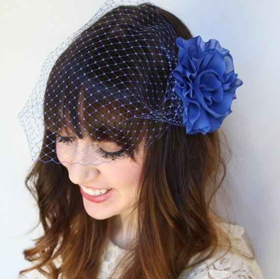 Dreamy Blue Veil
