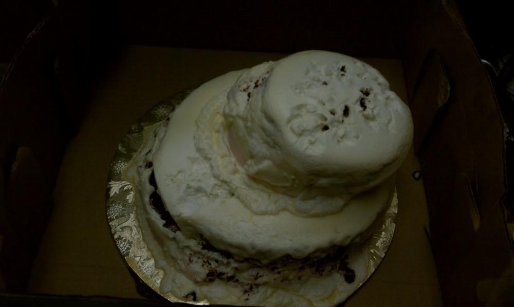 Melted Wedding Cake
