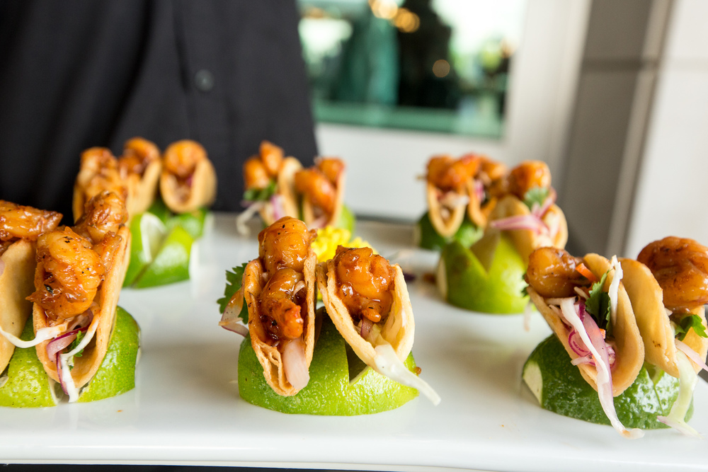 Mini Shrimp Tacos! www.Crucatering.com