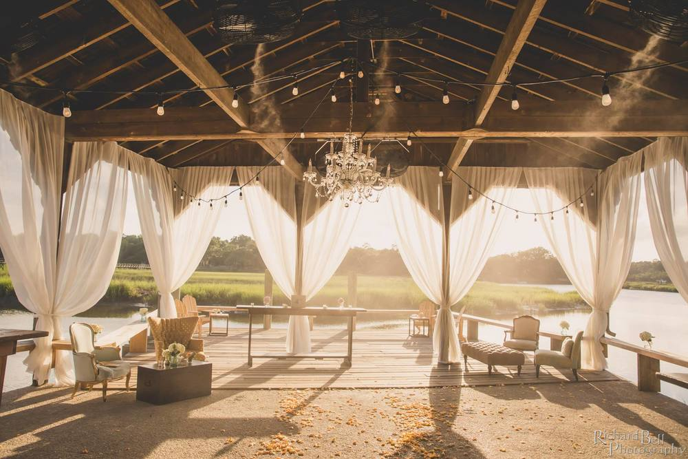 "Thanks to our pals at www.Charlestonwedding.com ""The Cotton Dock at Boone Hall"""