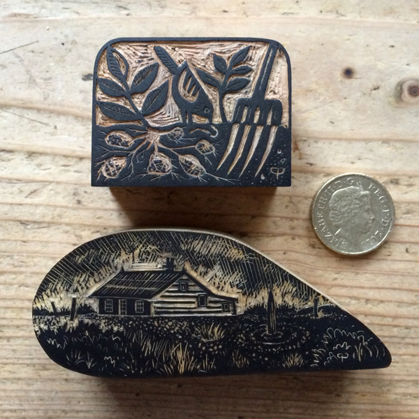 Wood engraving blocks
