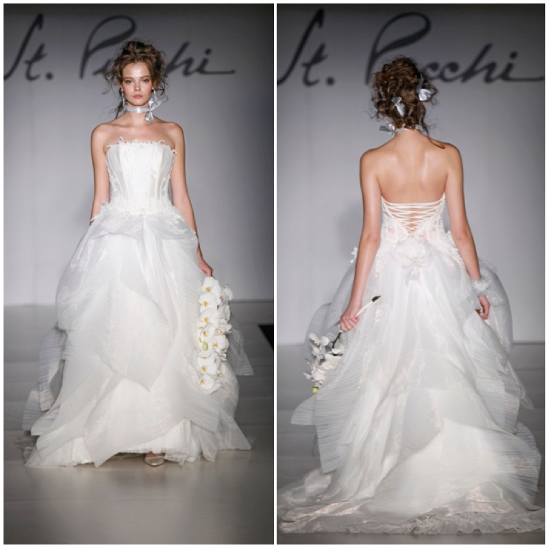 St Pucchi wedding dress