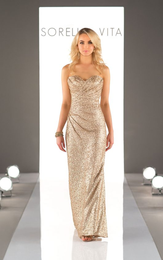 Sorella Sequin Bridesmaids Dress