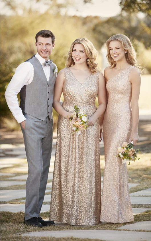 Sorella Vita Sequin Bridesmaids Dress