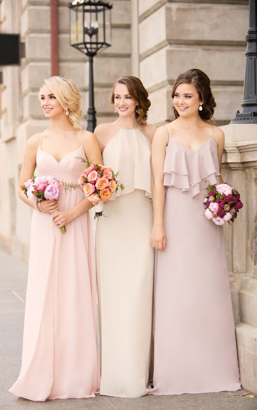 Sorella Vita Chiffon Boho bridesmaids dress