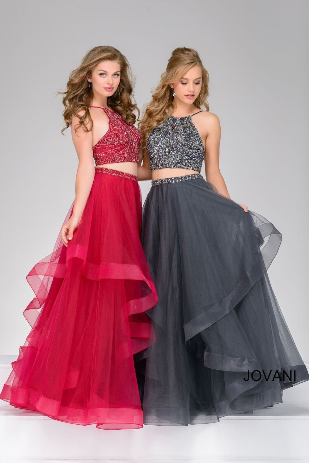 Two-Piece Prom Gown