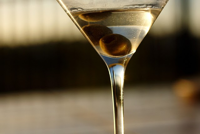 A dirty martini - what I wanted to consume that weird Friday evening. Image via Flickr Creative Commons.