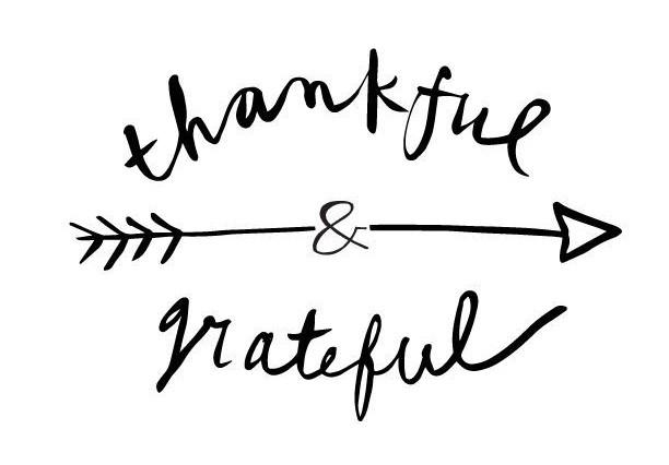 Thankful & Grateful