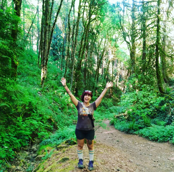 My first Portland hike! I love that there are so many gorgeous trails within 15-45 minutes of town.