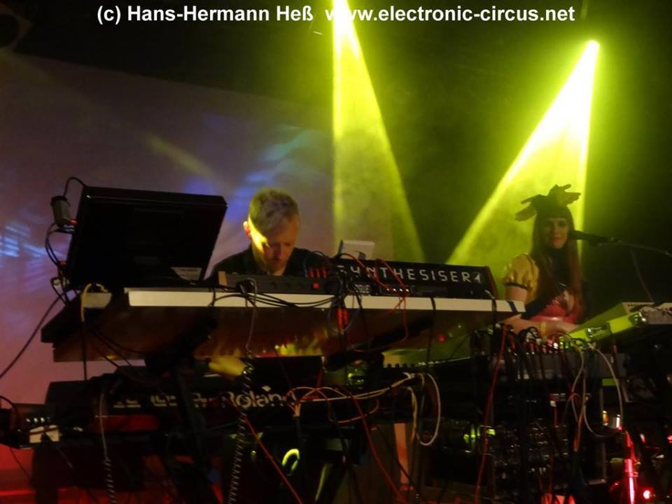 Vile Electrodes Martin Swan Anais Neon