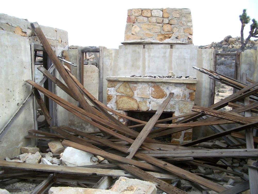 The Ruin Venue, Pioneertown. Near Joshua Tree National Park