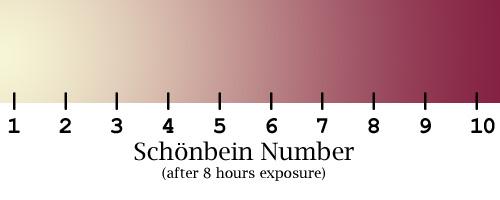 SchonbeinColorChart