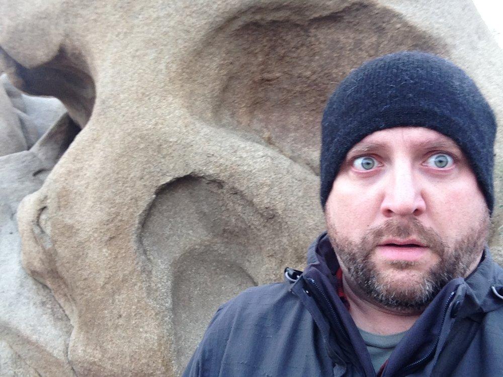 Skull Rock in Joshua Tree