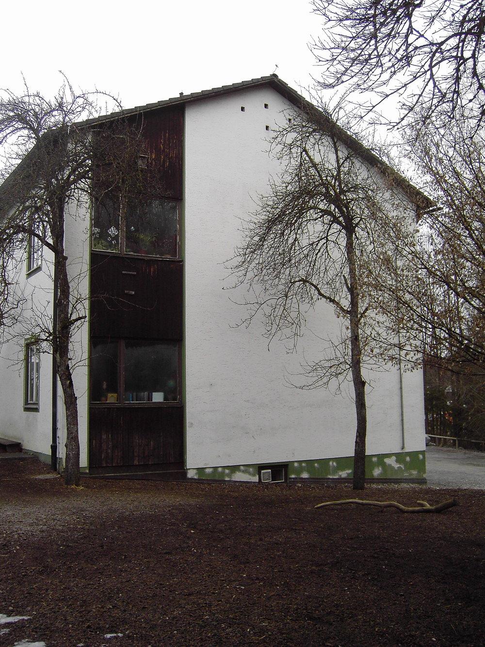 Südfassade Bestand