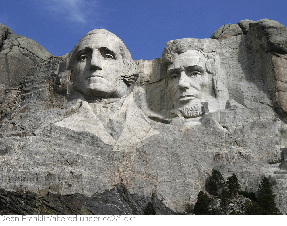 Washington and Lincoln, forgotten on Presidents Day via The Hill