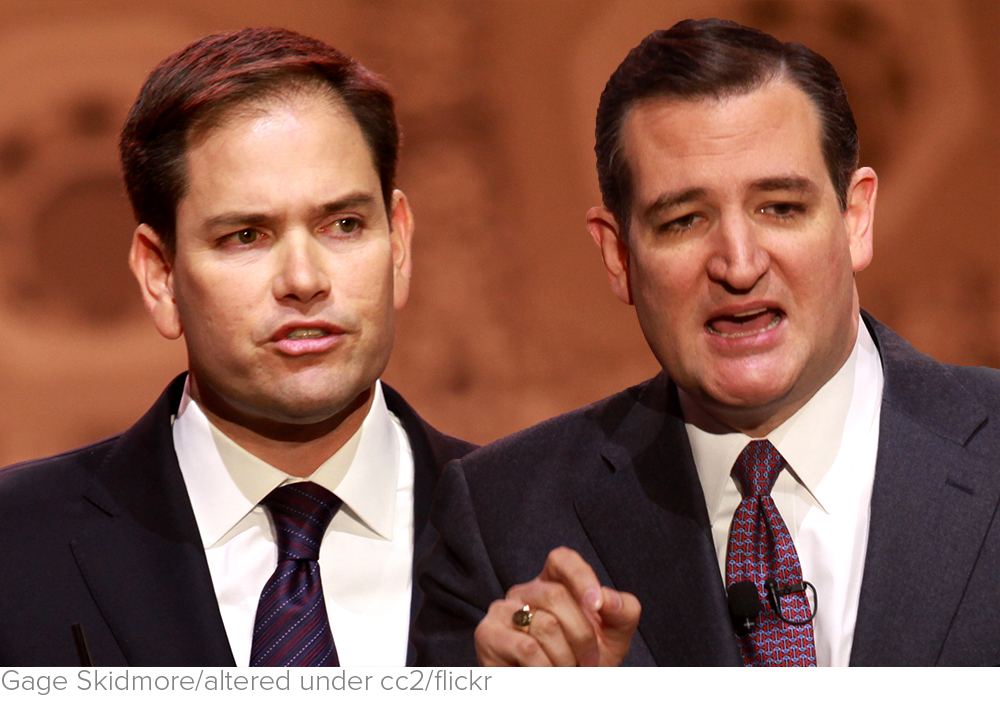 Cruz and Rubio Formed an Effective Tag Team as Trump Sputtered via National Review