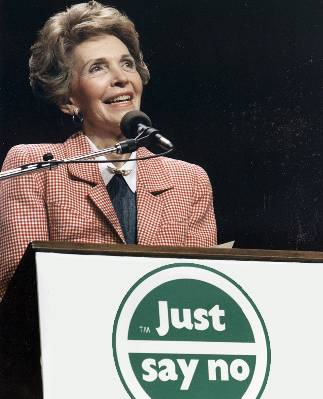 The Disastrous Legacy Of Nancy Reagan's 'Just Say No' Campaign via ThinkProgress