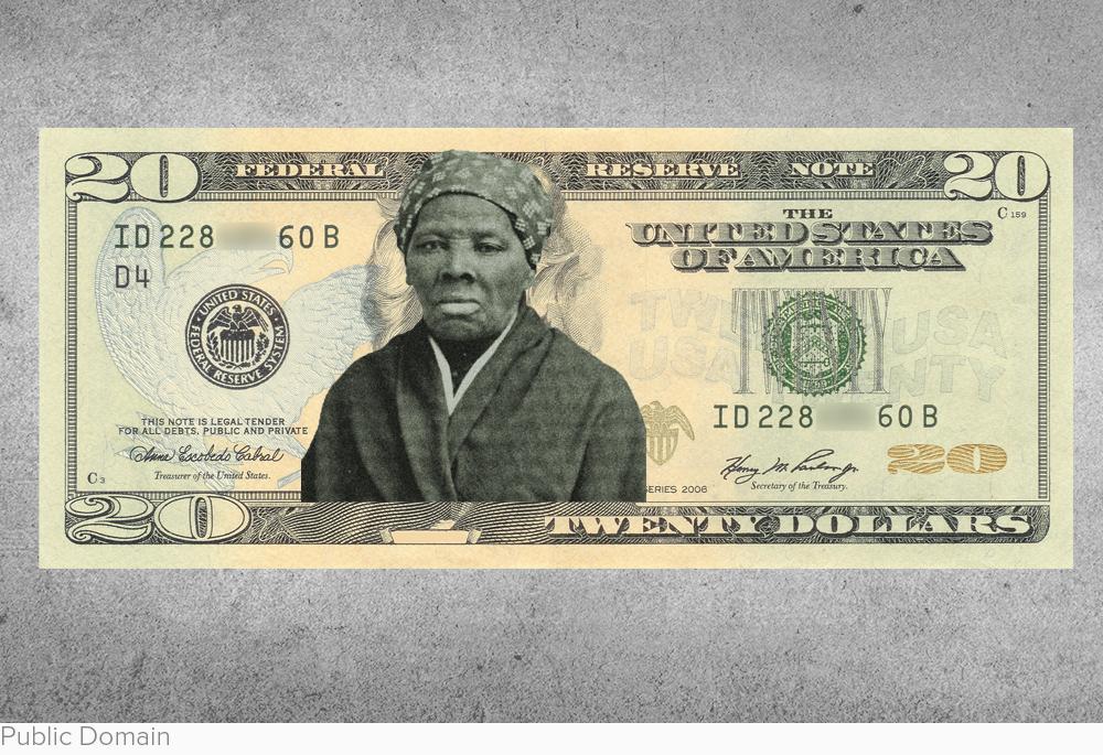 The new face of the $20 bill via LA Times