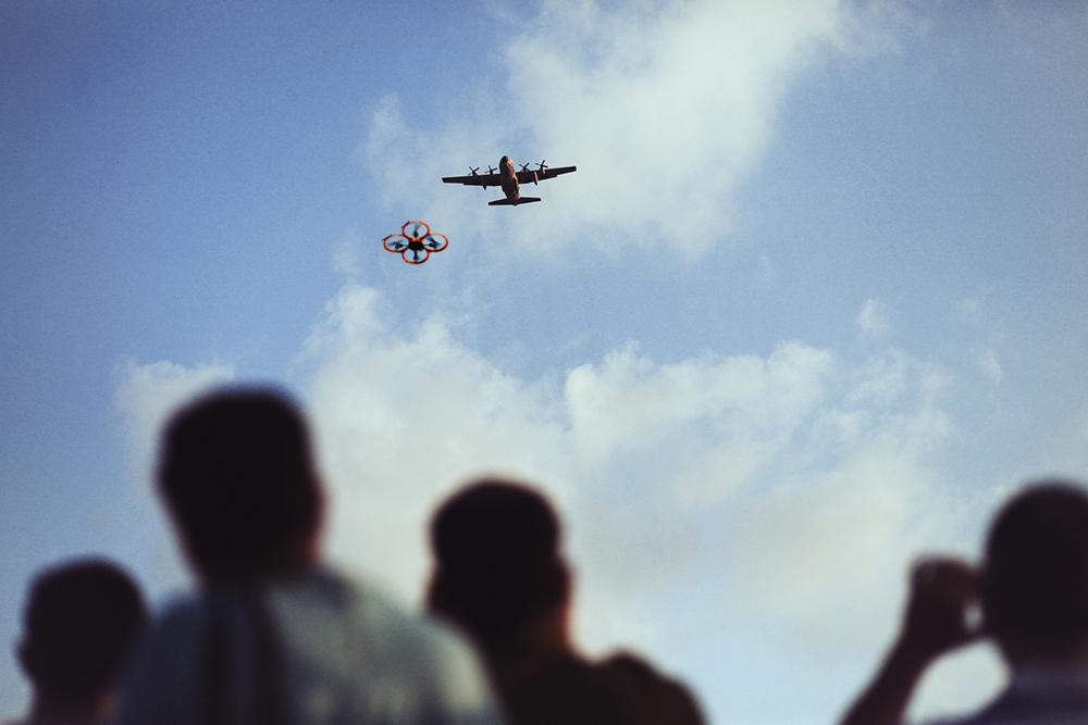 No tolerance for drones near aircraft via CNN.com