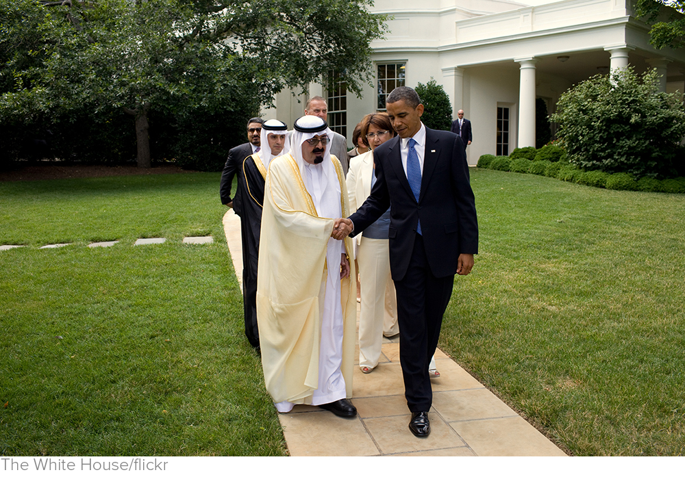 Why We Have to Get On With the Saudis via Newsweek