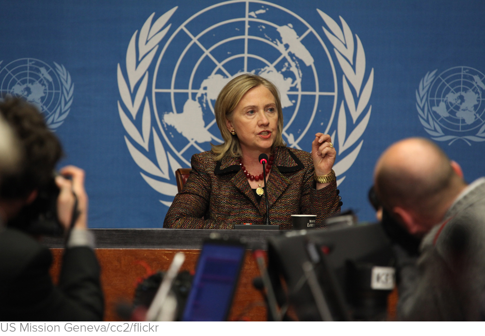 Hillary Clinton's Foreign Policy Isn't 'Muscular'—It's Bellicose via The Atlantic
