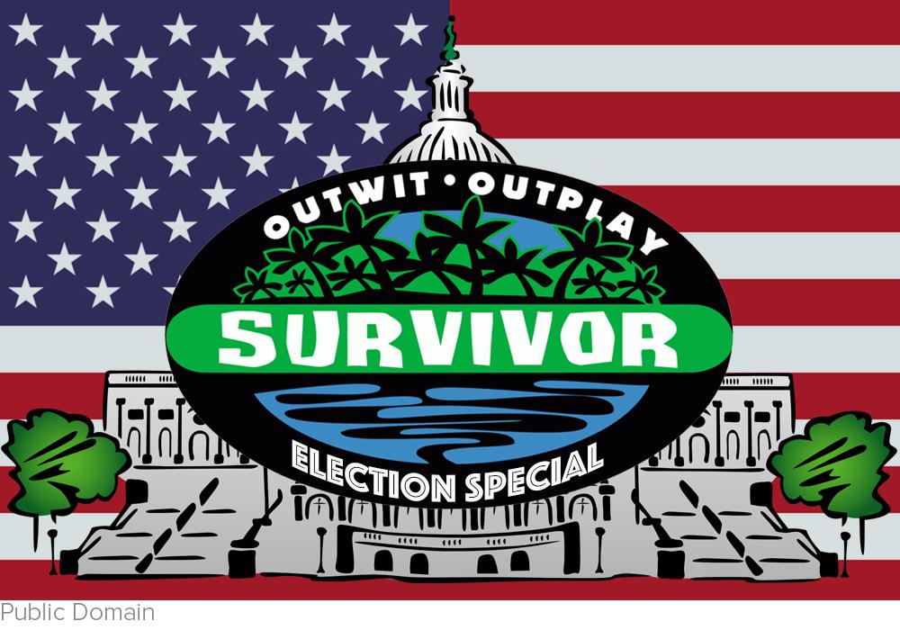 It's Trump vs. Hillary. Get ready America for an epic edition of 'Survivor' 2016 via Fox News