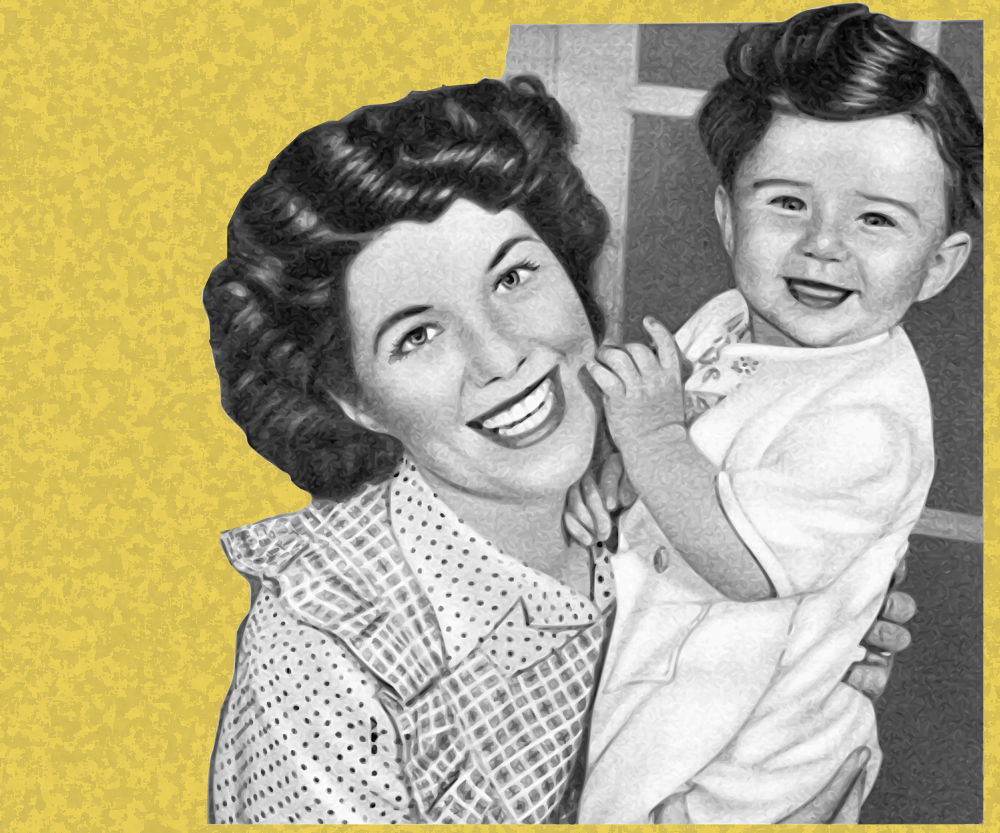 Let mom down from the pedestal: in praise of the messy, imperfect, authentic mother via Quartz