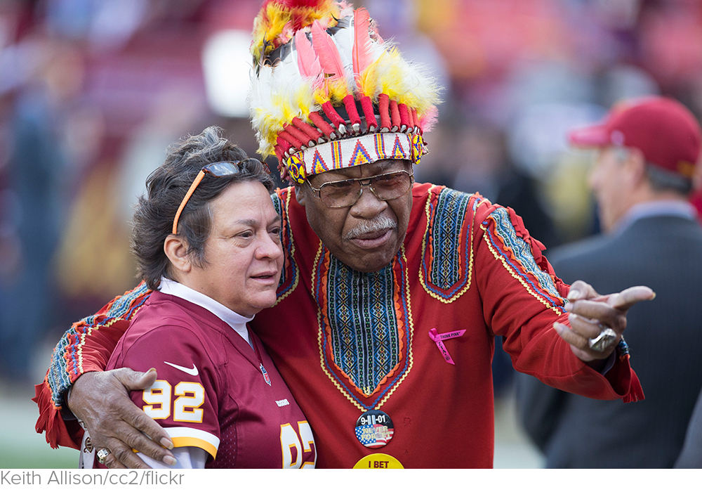 WaPo Poll Finds 90 Percent Of Native Americans Aren't Offended By Redskins' Name via The Daily Caller